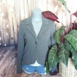 Charter club cashmere grey jacket